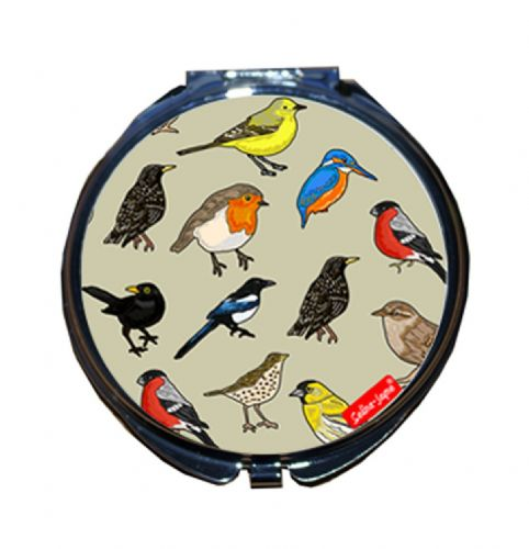 Selina-Jayne British Birds Limited Edition Compact Mirror